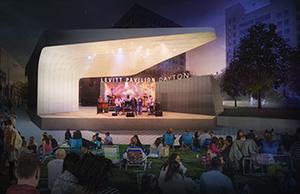 Levitt Pavilion rendering