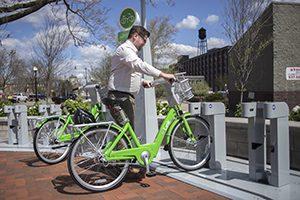 Link Bike Share Station