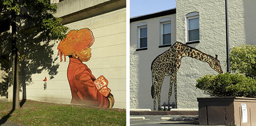 Urban Art Intersections Murals