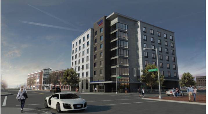 Rendering: Fairfield Inn & Suites