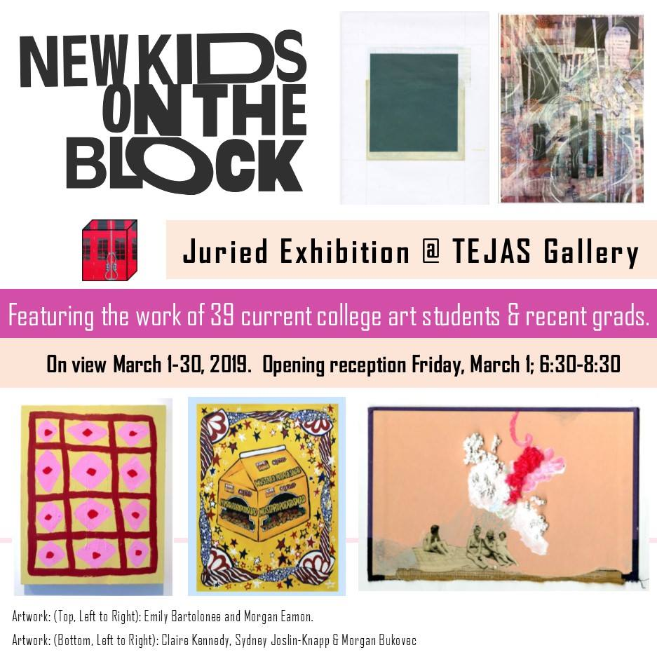 Opening Reception: New Kids on the Block Juried Exhibition